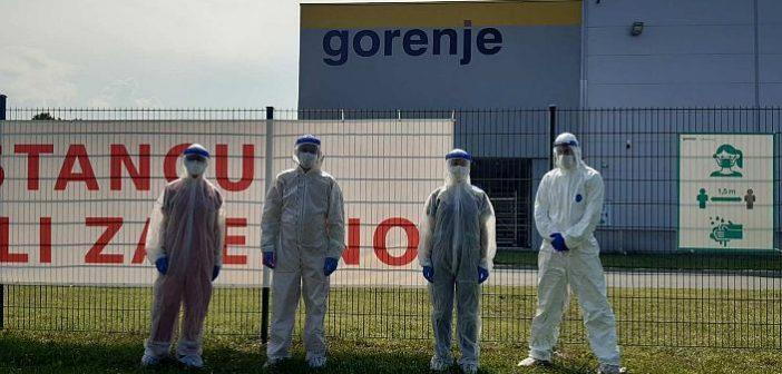 Saradnja MediGroup i fabrike Gorenje: Počelo preventivno kovid testiranje svih radnika