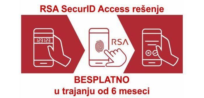RSA SecurID Access rešenje BESPLATNO u trajanju od šest meseci!