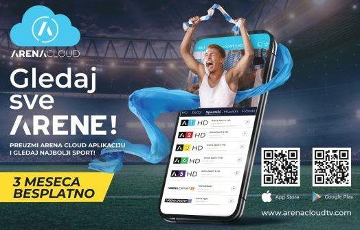 Lansirana Arena Cloud aplikacija
