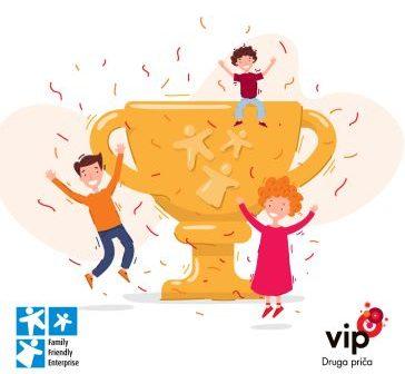 Vip mobile dobitnik potpunog Family Friendly sertifikata