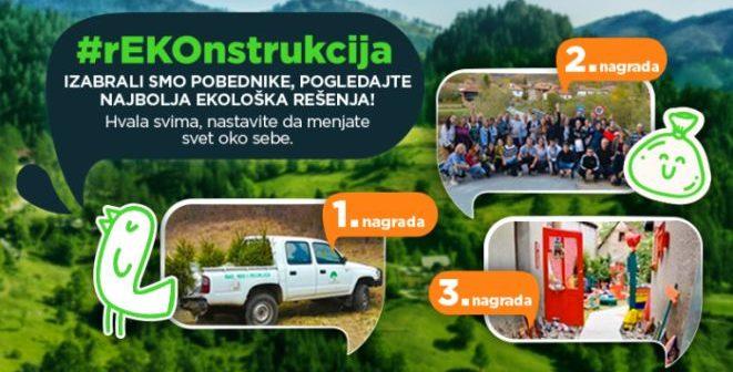 SBB fondacija: Proglašeni pobednici ekološkog konkursa rEKOnstrukcija