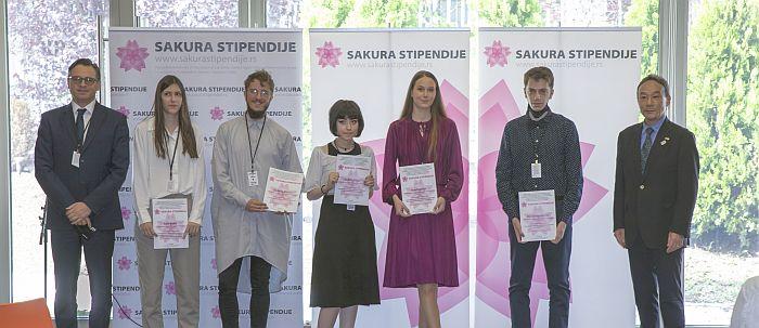 Dodeljene Sakura stipendije za 2021. godinu